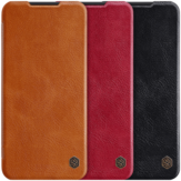 For Xiaomi Redmi Note 8T NILLKIN Flip Shockproof Card Slot Holder Full Cover PU Leather Vintage Protective Case