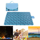 Folding 145/195x200cm Picnic Mat Waterproof Beach Moisture Proof Blanket Camping Travel
