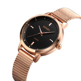 SKEMI 1528 Stainless Steel Strap Casual Style Women Watch