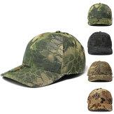 Erkekler Ayarlanabilir Kamuflaj Şapka Avcılık Balıkçılık Yürüyüş Askeri Beyzbol Şapkası