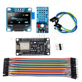 Geekcreit WiFi ESP8266 Starter Kit IoT NodeMCU Wireless I2C OLED Display DHT11 Temperature Humidity Sensor Module