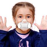 PM2.5 Toz Maske Çocuklar Için Anti-Kirlilik Nefes Akıllı Elektrikli Fan Maske Hava Kaynağı Yüz Maske Outdoor Bisiklet Kampçılık Yürüyüş