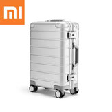 Original Xiaomi 20inch Travel Suitcase Men Women Business Trunk 31L Aluminum Alloy TSA Lock Spinner Wheel Carry On Luggage Case