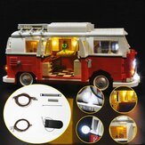 Zaktualizowany zestaw oświetlenia LED do klocków LEGO 10220 T1 Campingbus VW CAMPER VAN