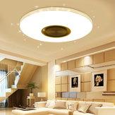 84LED RGBW Lampada da soffitto per musica intelligente lampada APP / remoto Controllo 220V / 100-260V