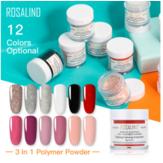 ROSALIND Set 3 in 1 polvere per immersione Set di polvere acrilica per Unghie