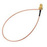 Cavo di prolunga 50CM da U.FL IPX a RP-SMA Femmina Connettore Antenna Cavo a spirale RF Pigtail Jumper per scheda WiFi PCI RP-SMA Jack a IPX RG178