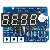Clock Shield RTC DS1307 Module Multifunction Expansion Board with 4 Digit Display Light Sensor and Thermistor OPEN-SMART for Arduino - products that work with official Arduino boards