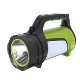 300W 3000LM USB Rechargeable Powerful LED Flashlight Super Bright Work Light Spotlight Emergency Torch Lamp
