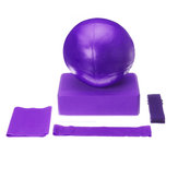 5 Morceau / Ensemble Yoga Ball Yoga Tile Stretch Bande Tension Bande