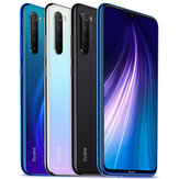 Xiaomi Redmi Note 8 Global Version 6,3 tommer 48MP quad-bagkamera 4 GB 128 GB 4000 mAh Snapdragon 665 Octa core 4G Smartphone