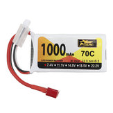 ZOP القوة 7.4V 1000mAh 70C 2S Lipo البطارية T Plug for Wltoys V912 V912 V262 V353 Helicopter