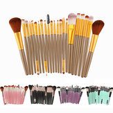 22pcs Make-up Pinsel Set Eyeshaow erröten Creme Puder Founda
