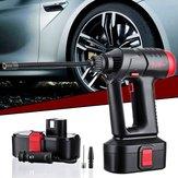 Audew 12V 160PSI trådløs luftkompressor Bærbar dækinflator LCD genopladelig håndholdt digital pumpe