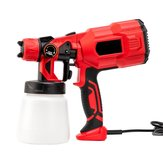 220V 550W High Power Home Electric Paint Sprayer Handheld Spraying Clean Tool 800ml