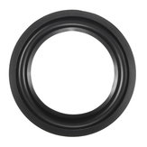 5'' Inch Universal Speaker Surround Repair Kit Rubber Edge Replacement Black