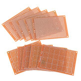 10pcs Universal PCB Board 5x7cm 2.54mm Hole Pitch DIY Prototype Paper Printed Circuit Board Panel Single Sided Board