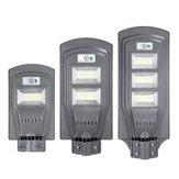 Солнечные батареи 117/234/351 LED Wall Street Light PIR Motion Лампа Сад Road