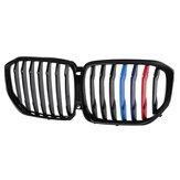 Peinture M-Color Shiny Black Front Grille Grill Performance SUV pour BMW X5 G05 2019-2020