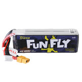 TATTU FUNFLY 14.8V 1800mAh 100C 4S Lipo Battery XT60 Plug for Cockroach V2 225mm Frame RC Drone