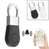 Bakeey R2 Wireless bluetooth 4.0 Smart Tracker Anti-lost Alarm Tracker Key Finder Mini Multifunctional Child Bag Pet Wallet Finder GPS Locator Shutter Release button controller
