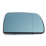 Lado derecho Coche Ala de la puerta Espejo con calefacción Cristal teñido de azul para BMW X5 E53 1999-2006