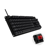 XIAOMI HZJP01YM 104 teclas Cherry Red Switch USB com fio PBT Keycap Mecânico Gaming Keyboard