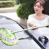 غسيل السيارات ممسحة فرشاة فرشاة السيارة الخاصة Soft تنظيف الفراء لا يضر أداة سيارة ممسحة السيارة قابل للسحب