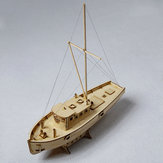 1:30 Boats Model Ships Nax Fishing Boat Model DIY Wood Model Home Office Decorations