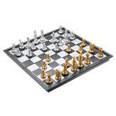Магнитные шахматные складные большие магнитные доски с фигурками Шахматные игрушки для детей Подарочные