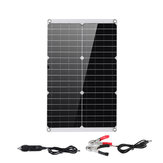 Mono Solar Panel Charger Dual USB Monocrystaline Flexible Solar Controller Power Bank Outdoor Camping Hiking Battery Charger