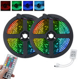 1M 2M 3M IP65 LED Strip Light RGB 5050 SMD Indoor Outdoor Lamp 44 Key Remote Control + IR Controller DC5V