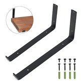 Iron Heavy Duty Scaffold Board Brackets for Wall Shelf Bracket Display Floating Boards Home Storage Angle Rack