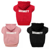 Pet Dog Clothes Printed Security Sweatshirts Hoodies Sweaters for Small Dog Chihuahua