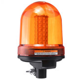DC12-24V 80 LED Roof Rotating Flashing  Beacon Strobe Tractor Warning Signal Light