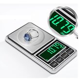Mini Green Backling 0.01g Pocket Digital Scales for Gold Bijoux Sterling Jewelry Weight Balance Gram Electronic Scale