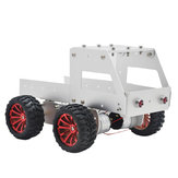 C-6 DIY Dumper Aluminous Smart RC Robot Car Chassis Base Kit