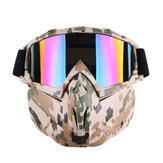 Motorcycle Goggles Motocross Off-road ATV Dirt Bike Eyewear Color Film Glasses