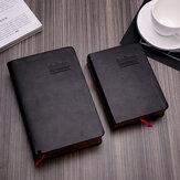 1 Parça A6 Büyük Boy Kalınlaşmak İncil Dizüstü Deri Kapak Dergisi Günlüğü Not Defteri Ofis Okul Kırtasiye