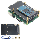 Ulepszona wersja V3.1 X850 mSATA SSD Storage Expansion Board dla Raspberry Pi 3 Model B / 2B / B+