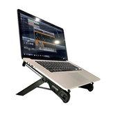 NEXSTANDK7-CN Supporto per laptop pieghevole Supporto da tavolo per laptop in metallo Supporto per laptop portatile Pad di raffreddamento per ufficio 11-18,4 pollici