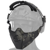 WoSporT MA-115 TPE 3D-gezichtshelm CS Field Tactical Protective Mask COS Play Tools
