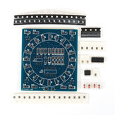 DIY SMD Component Soldering Practice Board Mini PCB Rotating LED Flash Kit