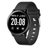 KINGWEAR KW19 srdeční frekvence Krevní tlak O2 Monitor Počasí Push Music Camera Control Brightness Adjustment Fitness Tracker Smart Watch
