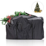 Outdoor Waterproof Christmas Xmas Tree Storage Bag Clothes Storage Punch