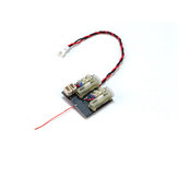 URUAV  MXL-RX62H-A V3 Mini 4CH RC Receiver Built-in 5A Brushesed ESC Linear Servo Support S-FHSS DSMX/2 FRSKY D8/D16 For RC Airplane Helicopter