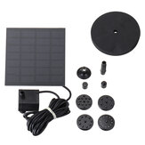 Solar Fountain Water Pump for Bird Bath Solar Panel Kit Fountain for Small Pond Garden Solar Pumping Eqiupment