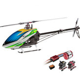 ALIGN T-REX 500X Dominator 6CH  3D Flying RC Helicopter Super Combo With Brushless 1600KV Motor ESC Digital Servos