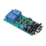 YYE-2 RS232 Regulowany port szeregowy UART pilot zdalnego sterowania 2-kanałowy moduł przekaźnikowy MCU PC rozdzielnica sterowania