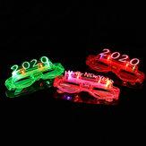 Óculos LED Armação de óculos com luz piscando Óculos